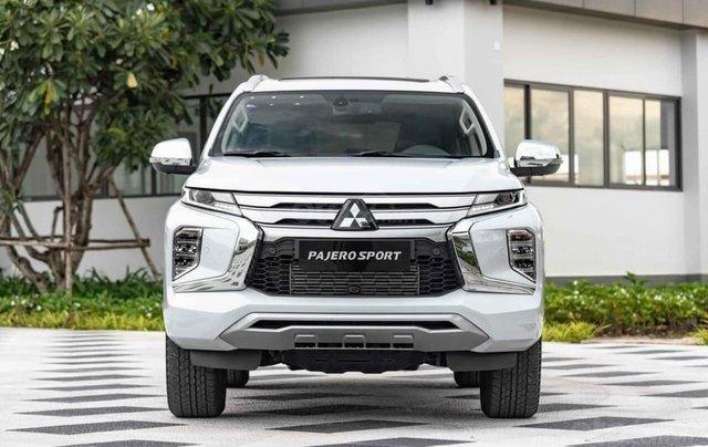 Hỗ trợ mua xe giá thấp chiếc Mitsubishi Pajero Sport D4x4 AT Pre đời 2020, giao nhanh0
