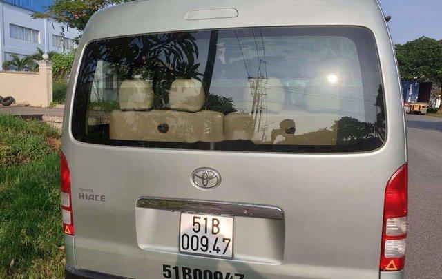 Cần bán Toyota Hiace sản xuất năm 2011, màu bạc, xe nhập0