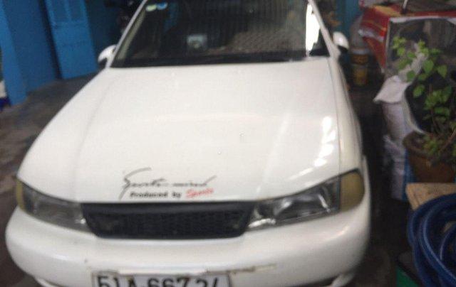 Cần bán lại xe Daewoo Cielo đời 1996, màu trắng1
