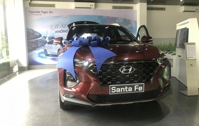 Bán xe Hyundai Santa Fe 2.2 dầu 20200