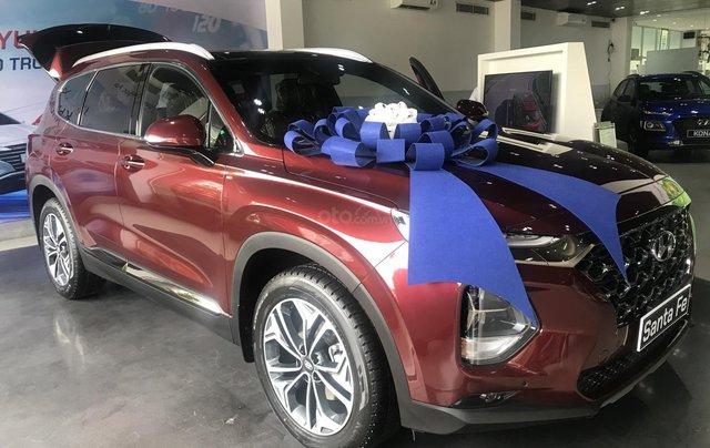 Bán xe Hyundai Santa Fe 2.2 dầu 20201