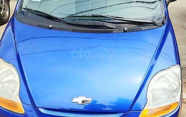 Cần bán gấp Chevrolet Spark năm 2009, màu xanh  2
