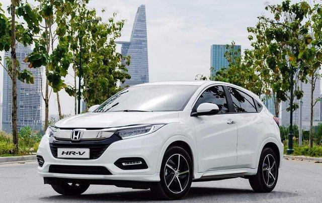 Cần bán xe Honda HRV năm sản xuất 2020, màu trắng0