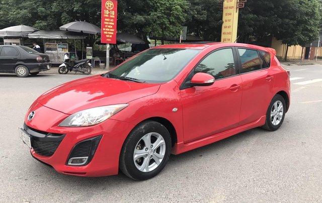Mazda 3 1.6AT cuối 2010 biển 4 số từ đầu, màu đỏ, 1 chủ từ mới cứng, nói không với lỗi nhỏ, đâm va, ngập nước1