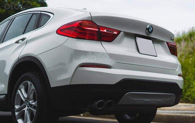 Bán xe BMW X4 màu trắng sản xuất 2014, nội thất kem3
