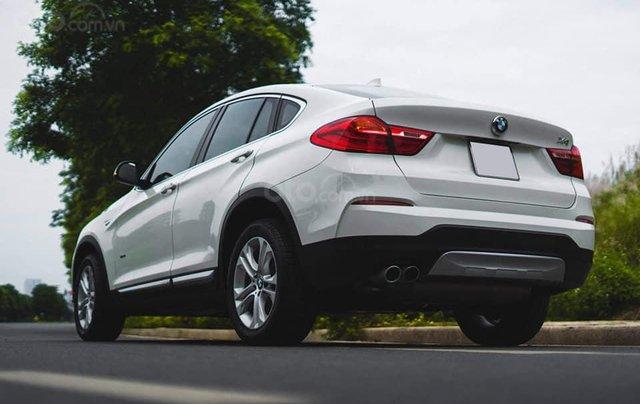 Bán xe BMW X4 màu trắng sản xuất 2014, nội thất kem5