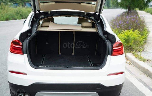 Bán xe BMW X4 màu trắng sản xuất 2014, nội thất kem6