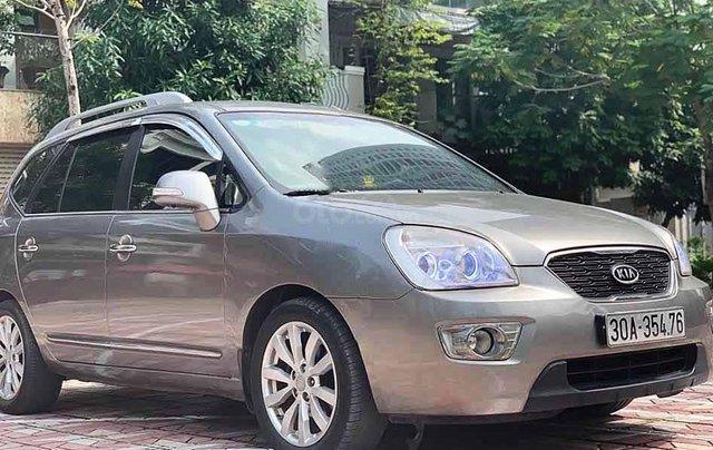 Cần bán lại xe Kia Carens đời 2011, màu xám, giá 325tr0