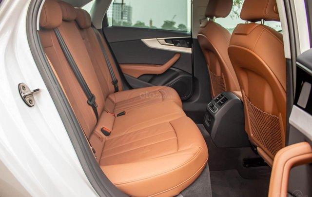 Bán Audi A4 40 TFSI model 2021 máy 2.0L Turbo, siêu lướt, xe màu trắng, nội thất nâu da bò sang trọng và đẳng cấp10