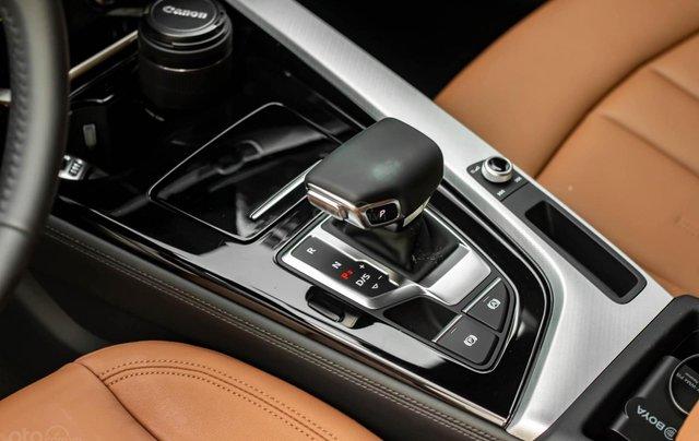 Bán Audi A4 40 TFSI model 2021 máy 2.0L Turbo, siêu lướt, xe màu trắng, nội thất nâu da bò sang trọng và đẳng cấp11