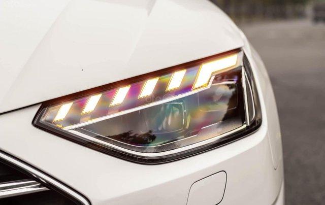 Bán Audi A4 40 TFSI model 2021 máy 2.0L Turbo, siêu lướt, xe màu trắng, nội thất nâu da bò sang trọng và đẳng cấp4