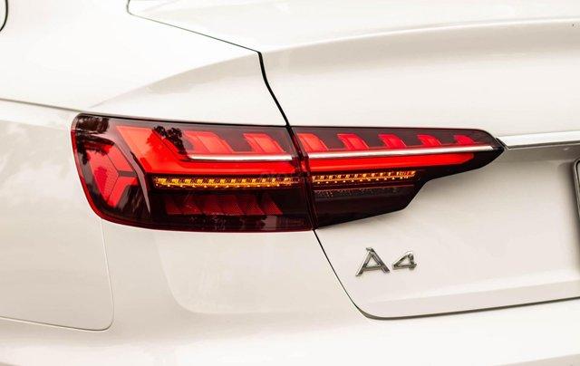 Bán Audi A4 40 TFSI model 2021 máy 2.0L Turbo, siêu lướt, xe màu trắng, nội thất nâu da bò sang trọng và đẳng cấp5