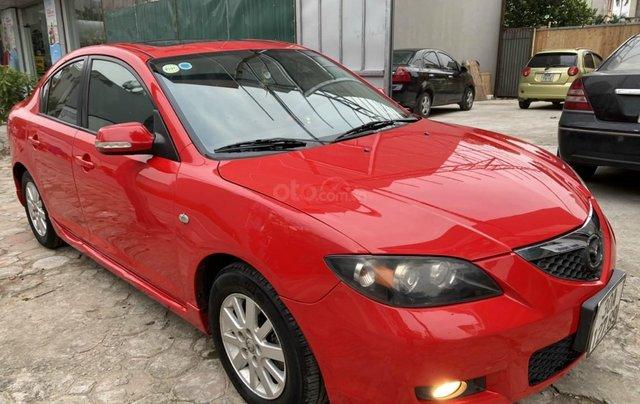 Bán Mazda 3 sản xuất 2009, xe màu đỏ, số tự động, giá tốt 280 triệu2