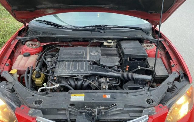 Bán Mazda 3 sản xuất 2009, xe màu đỏ, số tự động, giá tốt 280 triệu7