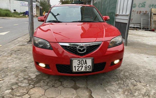 Bán Mazda 3 sản xuất 2009, xe màu đỏ, số tự động, giá tốt 280 triệu0