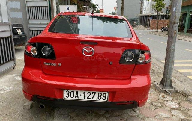 Bán Mazda 3 sản xuất 2009, xe màu đỏ, số tự động, giá tốt 280 triệu4