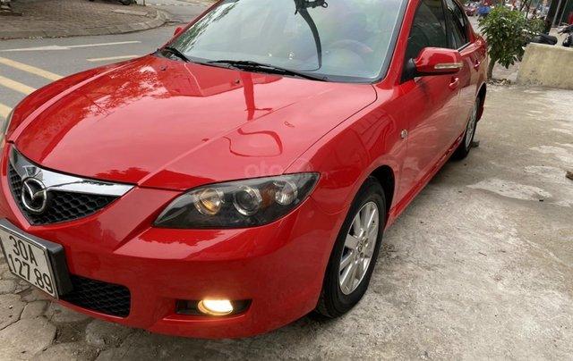 Bán Mazda 3 sản xuất 2009, xe màu đỏ, số tự động, giá tốt 280 triệu1