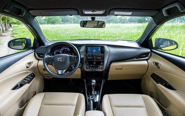 Toyota Yaris 1.5G CVT phiên bản 2021, nữ hoàng hiện đại4