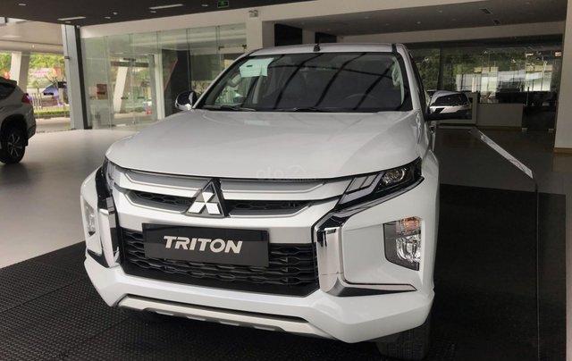 [Mitsubishi Lào Cai] bán tải Triton 2020 mới, giảm 20 tr tiền mặt, trả trước 160 triệu đủ màu giao xe ngay1