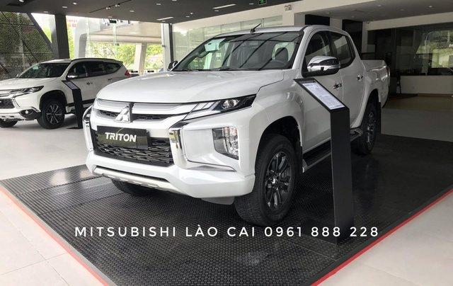 [Mitsubishi Lào Cai] bán tải Triton 2020 mới, giảm 20 tr tiền mặt, trả trước 160 triệu đủ màu giao xe ngay2