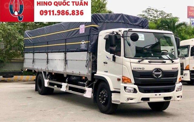 Xe tải Hino FG tải 8 tấn thùng dài 7.4 -8.6M 20200