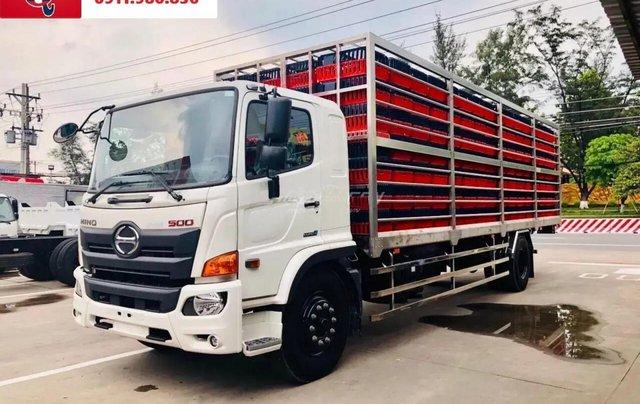 Xe tải Hino FG tải 8 tấn thùng dài 7.4 -8.6M 20203