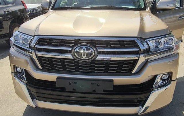 Bán Toyota Landcruiser VX-S 4.6V8 Trung Đông màu vàng cát 2021 LH Đình0