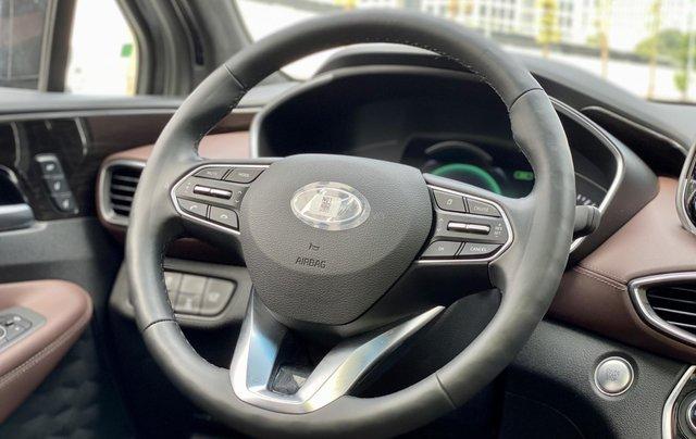 Hyundai Santafe bản xăng cao cấp 20191