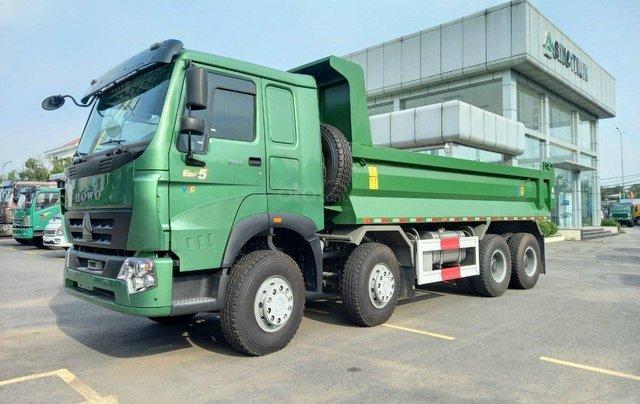 Xe Ben Howo 3 Chân, 4 chân thùng Hyundai tải 12-18 tấn - 10 khối 31