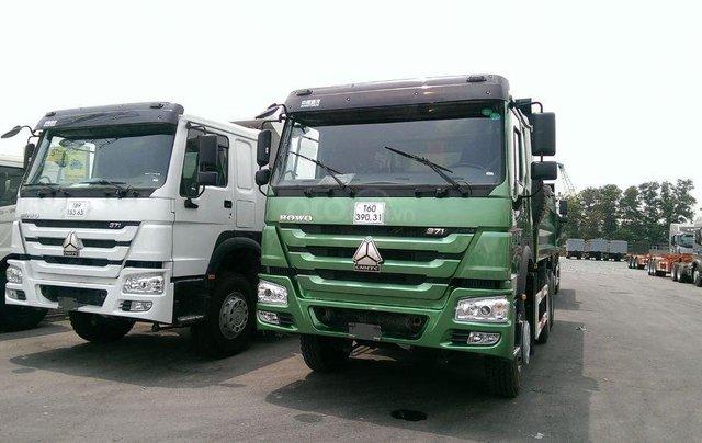 Xe Ben Howo 3 Chân, 4 chân thùng Hyundai tải 12-18 tấn - 10 khối 32