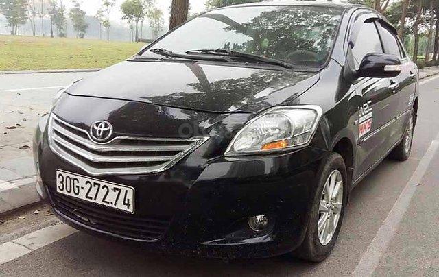 Cần bán xe Toyota Vios 1.5MT năm sản xuất 2014, màu đen số sàn, giá 259tr0