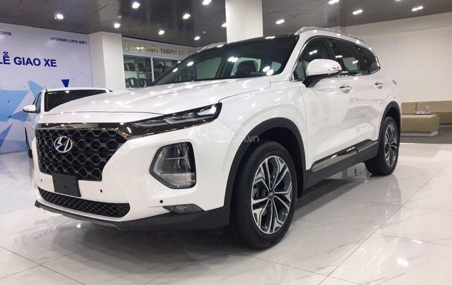 [Siêu ưu đãi] Hyundai Santa Fe 2020 bản tiêu chuẩn, giảm 50% thuế trước bạ, giảm 40tr tiền mặt, quà tặng cực lớn0