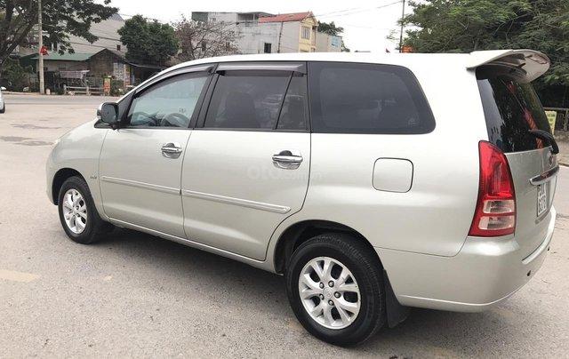 Toyota Innova 2.0G năm 2007, màu bạc, không thể kiếm con mới hơn chất lượng hơn, mới nhất Việt Nam là có thật2