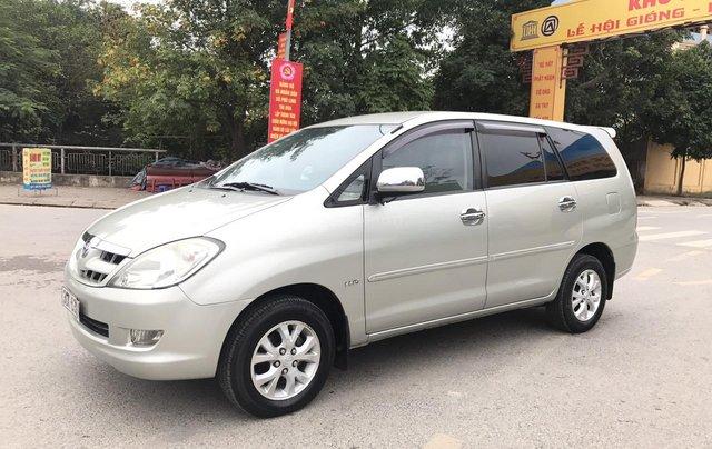 Toyota Innova 2.0G năm 2007, màu bạc, không thể kiếm con mới hơn chất lượng hơn, mới nhất Việt Nam là có thật1