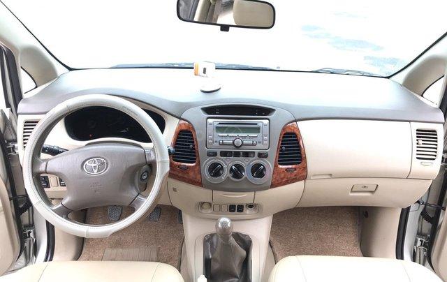 Toyota Innova 2.0G năm 2007, màu bạc, không thể kiếm con mới hơn chất lượng hơn, mới nhất Việt Nam là có thật4