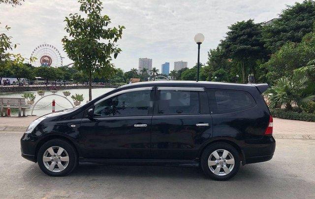 Bán Nissan Grand livina năm 2012, màu đen số tự động5