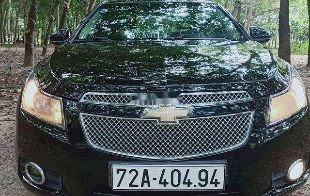 Cần bán gấp Chevrolet Cruze sản xuất 2012, màu đen chính chủ 0