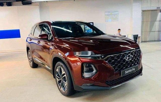 Hyundai Bình Dương cần bán Hyundai Santa Fe năm sản xuất 2020, màu đỏ3