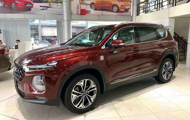 Hyundai Bình Dương cần bán Hyundai Santa Fe năm sản xuất 2020, màu đỏ1