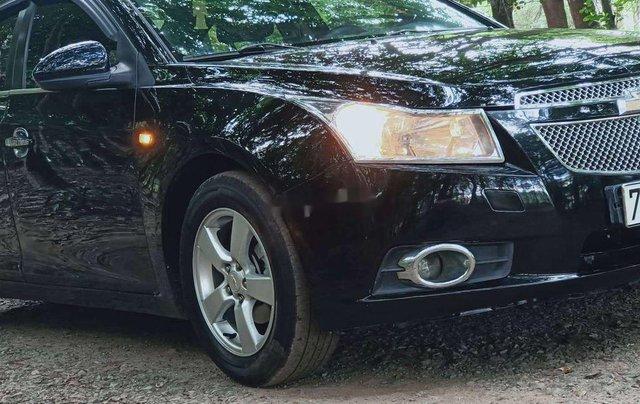 Cần bán gấp Chevrolet Cruze sản xuất 2012, màu đen chính chủ 6