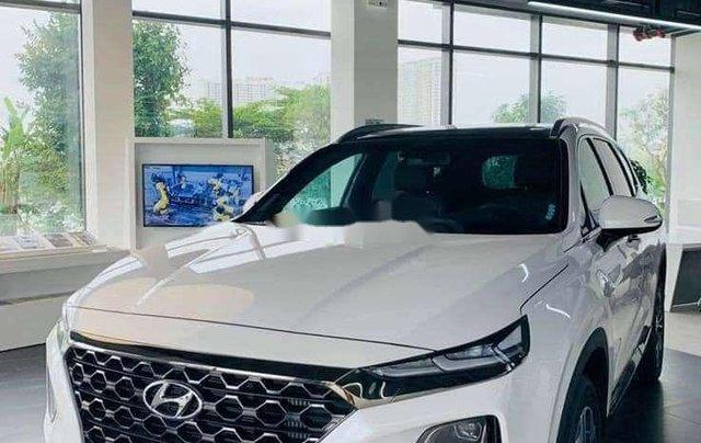 Hyundai Bình Dương cần bán Hyundai Santa Fe năm sản xuất 2020, màu đỏ5