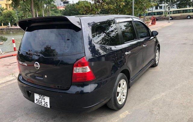Bán Nissan Grand livina năm 2012, màu đen số tự động1