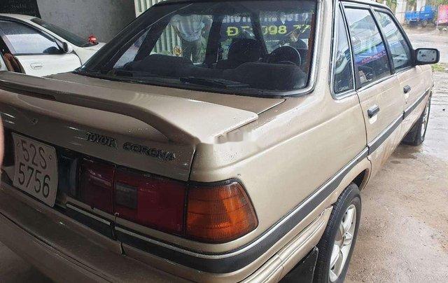 Bán xe Toyota Corona đời 1985, màu vàng6