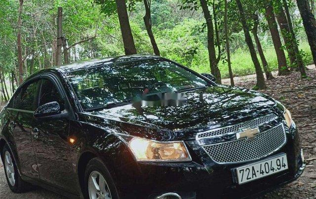 Cần bán gấp Chevrolet Cruze sản xuất 2012, màu đen chính chủ 11