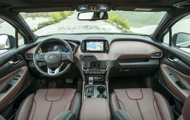 Hyundai Bình Dương cần bán Hyundai Santa Fe năm sản xuất 2020, màu đỏ6