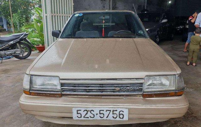 Bán xe Toyota Corona đời 1985, màu vàng0
