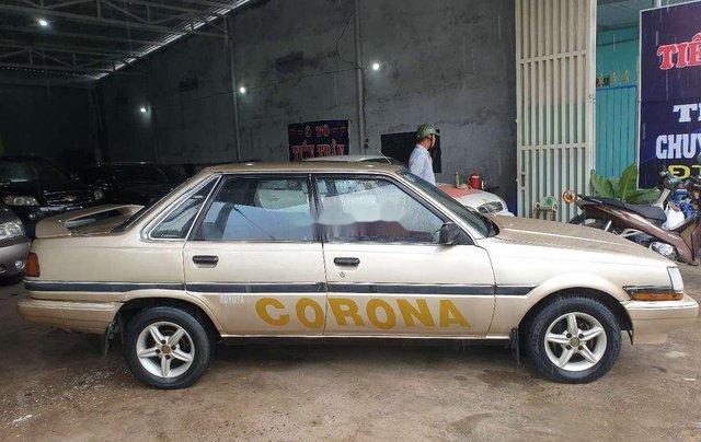 Bán xe Toyota Corona đời 1985, màu vàng3