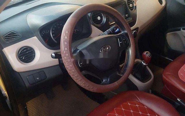 Bán xe Hyundai Grand i10 sản xuất 2014, màu bạc, xe nhập, giá chỉ 242 triệu6