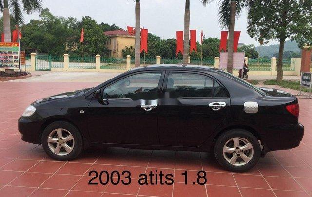 Cần bán xe Toyota Corolla Altis năm sản xuất 2003, màu đen, nhập khẩu nguyên chiếc, 168 triệu0