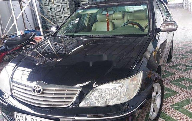 Bán xe Toyota Camry đời 2002, màu đen 6